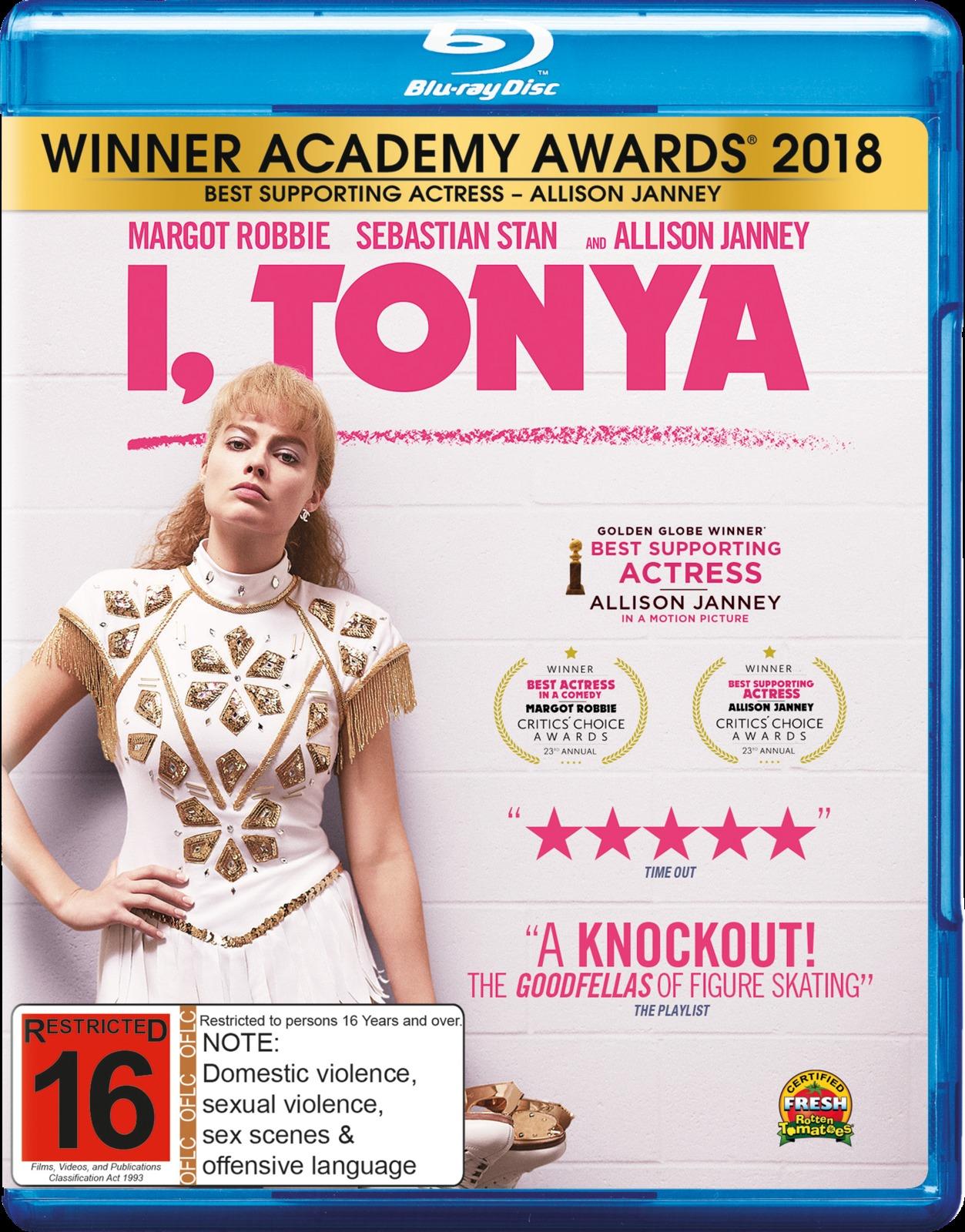 I, Tonya on Blu-ray image