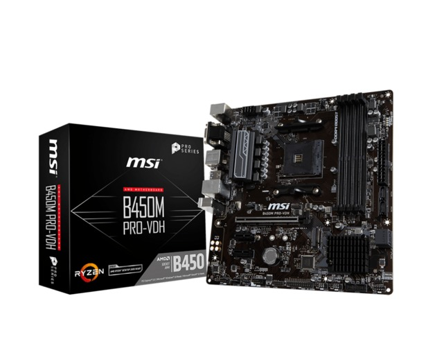 MSI B450M Pro-Vdh Motherboard