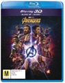 Avengers: Infinity War on 3D Blu-ray