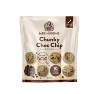 Mrs Higgins Chunky Choc Chip Multipack 10pk