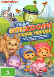 Team Umizoomi: Animal Heroes on DVD image