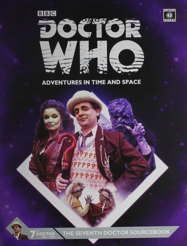Doctor Who Seventh Doctor Sourcebook by Andy Peregrine