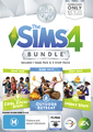 The Sims 4 Bundle Pack 2 (code in box) for PC