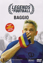 Legends Of Football - Baggio on DVD