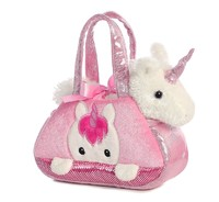 Aurora: Fancy Pal Pet Carriers - Peek a Boo Unicorn