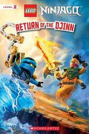 Return of the Djinn (Lego Ninjago: Reader) by Kate Howard