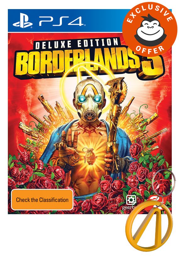 Borderlands 3 Deluxe Edition for PS4 image