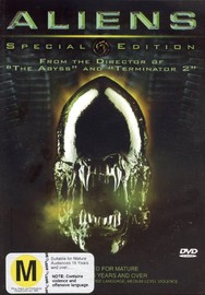 Aliens - Special Edition (2 Disc) on DVD image