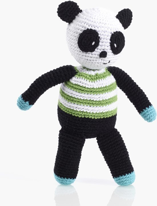 Pebble: Crochet Panda Rattle