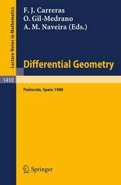 Differential Geometry: 3rd, 1989