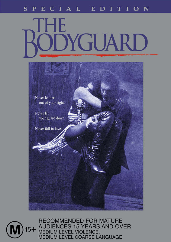 The Bodyguard - Special Edition on DVD