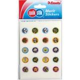 Quik Stik Labels Flat Pack 13mm Gloss Character Pkt200