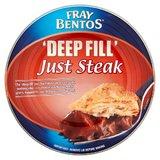 Fray Bentos 'Deep Fill' Just Steak Pie (475g)
