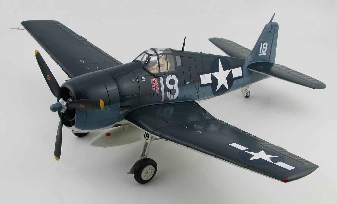 "Hobby Master: 1/32 Grumman F6F-3 ""Hellcat"" - Diecast Model image"
