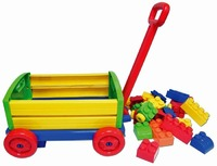Big Blocks Wagon with 24 Blocks