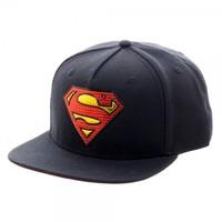 DC Comics Superman Chrome Snapback Cap