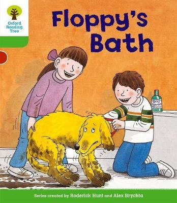 Oxford Reading Tree: Level 2: More Stories A: Floppy's Bath by Roderick Hunt image