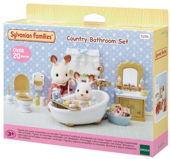 Sylvanian Families: Country Bathroom Set image