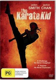 The Karate Kid (2010) on DVD