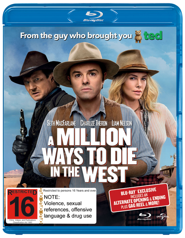 A Million Ways to Die in the West on Blu-ray