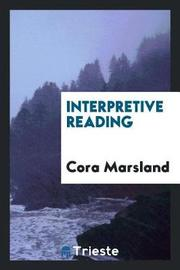 Interpretive Reading by Cora Marsland image
