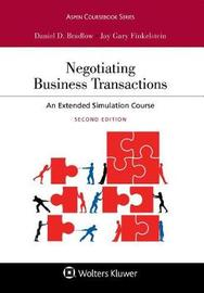 Negotiating Business Transactions by Daniel D Bradlow