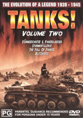Tanks Vol 2 on DVD