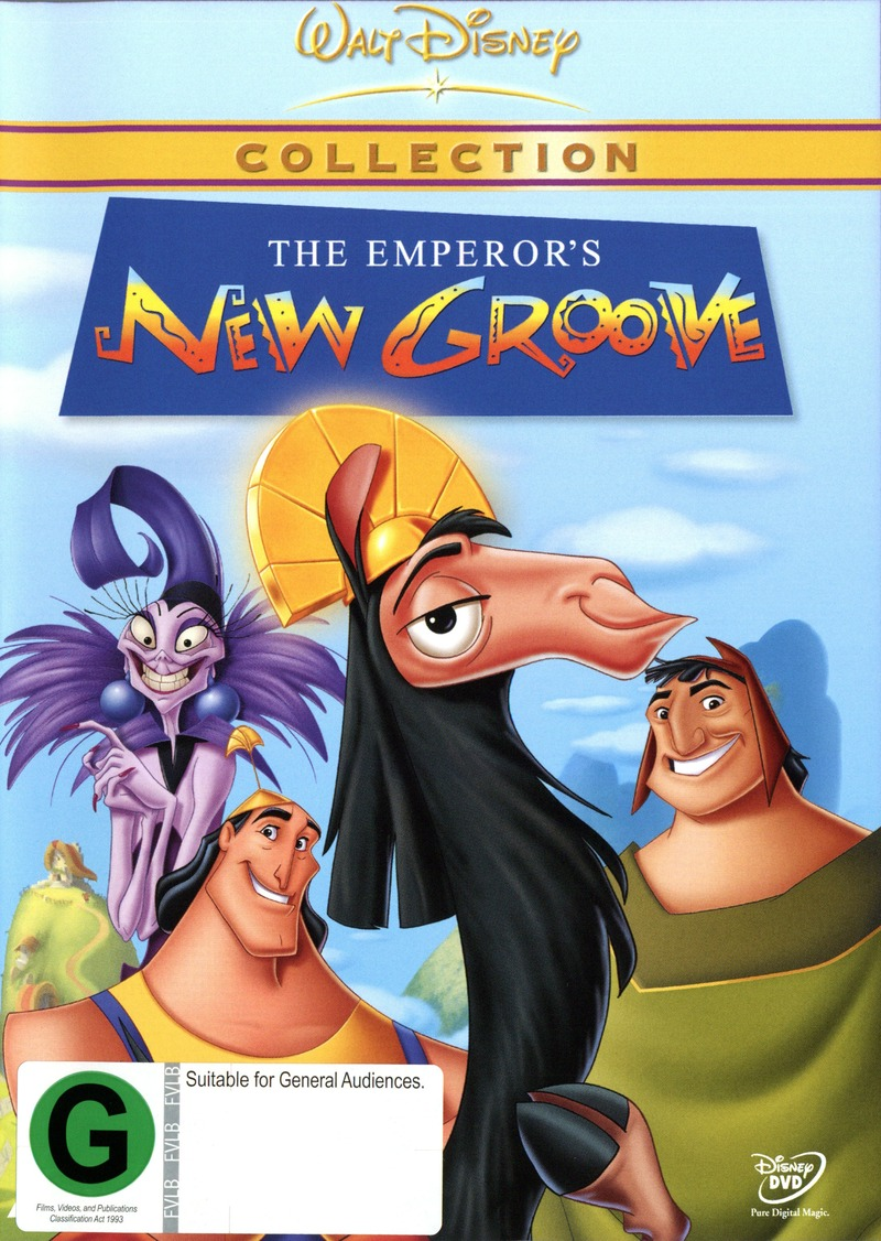 The Emperor's New Groove Deluxe Edition on DVD image