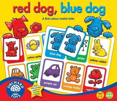 Orchard Toys: Red Dog Blue Dog