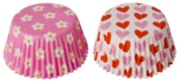 Sweet Creations - Cupcake Cases, Hearts & Flowers