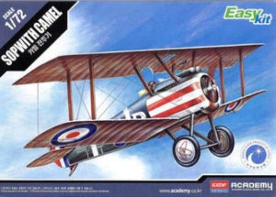 Academy Sopwith Camel WWI Fighter 1/72 Model Kit