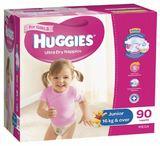 Huggies Nappies Mega Pack - Junior Girl 16kg+ (90)