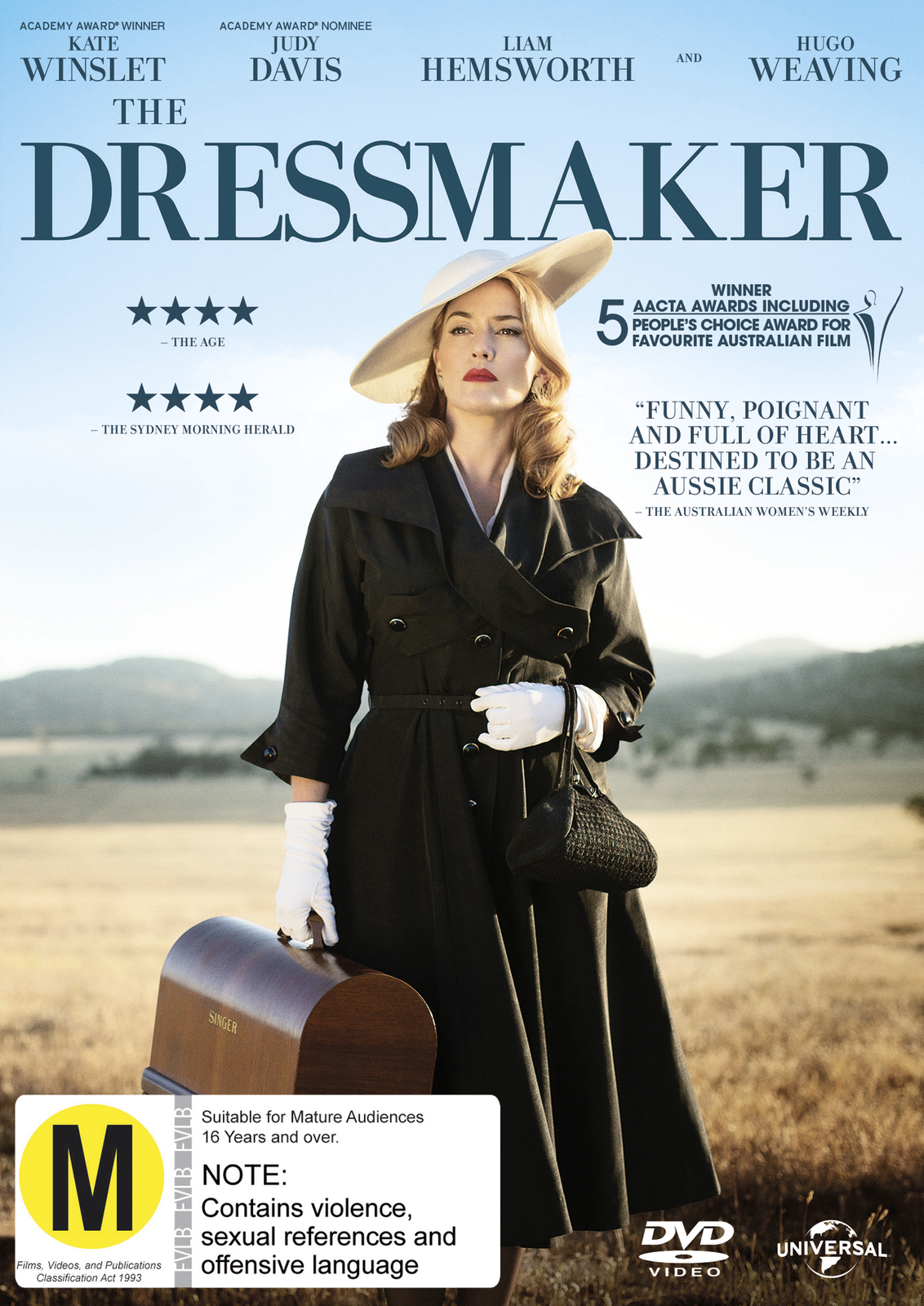 The Dressmaker on DVD image