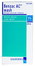 Benzac AC 5% Mild to Moderate Acne Wash (200ml)