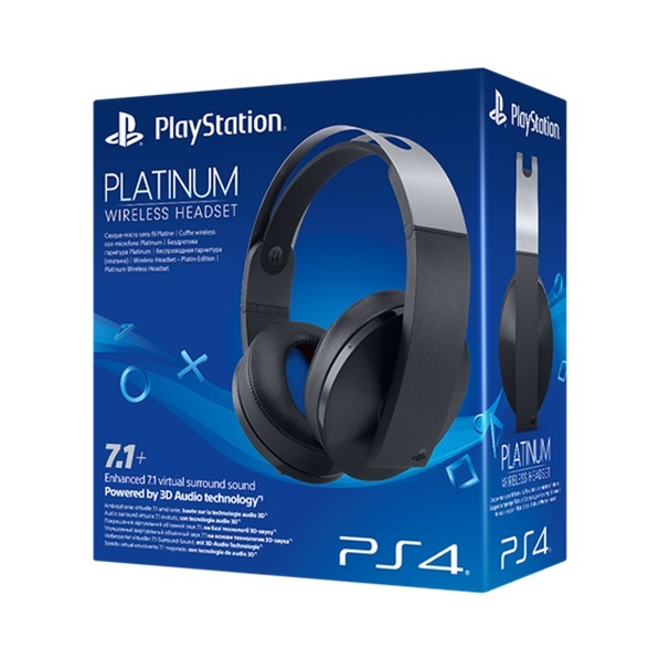 PlayStation Platinum Wireless Headset | PS4 | On Sale Now