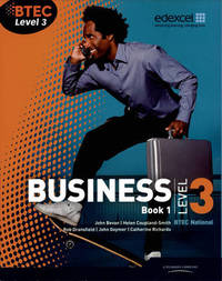 BTEC Level 3 National Business Student Book 1 by Catherine Richards image