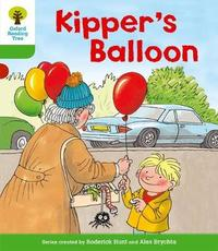 Oxford Reading Tree: Level 2: More Stories A: Kipper's Balloon by Roderick Hunt image