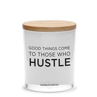 Hustle Candle (XL, White)