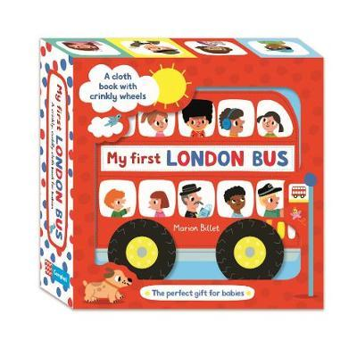 My First London Bus Cloth Book Marion Billet Book In Stock Buy