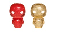 Marvel: Iron Man (Red & Gold) - Hikari XS Vinyl Figure 2-Pack