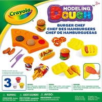 Crayola: Dough Activity Set - Burger Chef