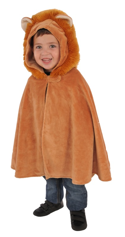 Rubie's: Lion Cub - Furry Hooded Cape (Toddler)