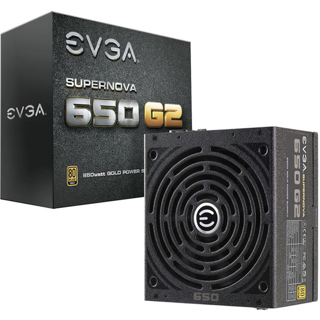 EVGA SuperNOVA 650 G2 650W 80+ Gold Full Modular Power Supply