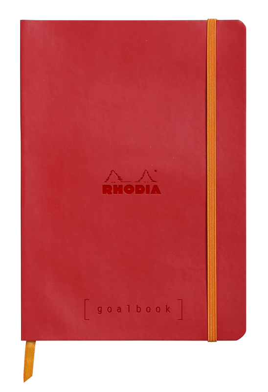 Rhodiarama A5 Goalbook Dot Grid - Poppy
