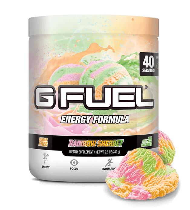G FUEL Energy Formula - Rainbow Sherbet (40 Servings)