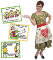 How to Keep Your Husband Apron images, Image 1 of 3