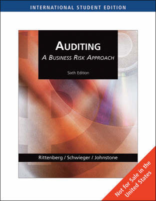 Auditing: A Business Risk Approach: With Acl CD-Rom by Larry E Rittenberg