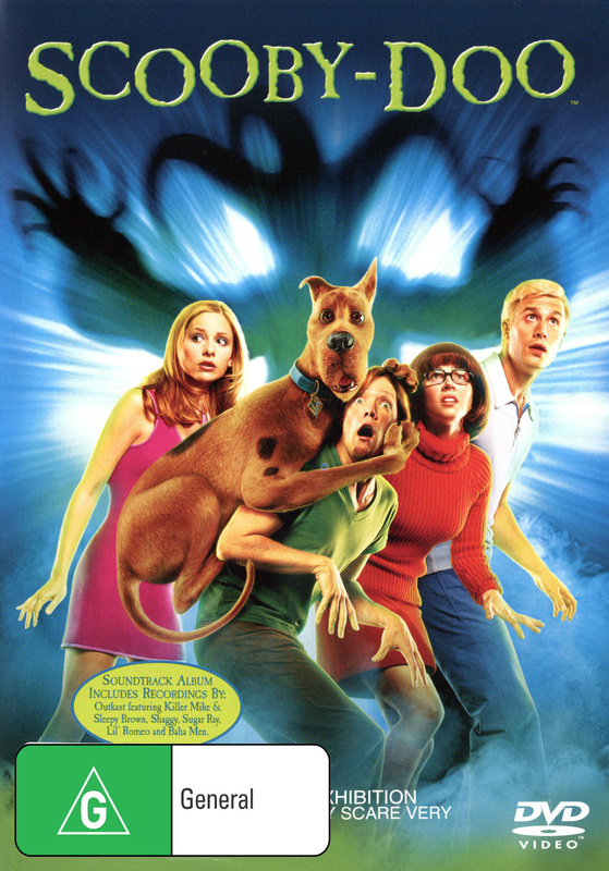Scooby Doo! The Movie on DVD