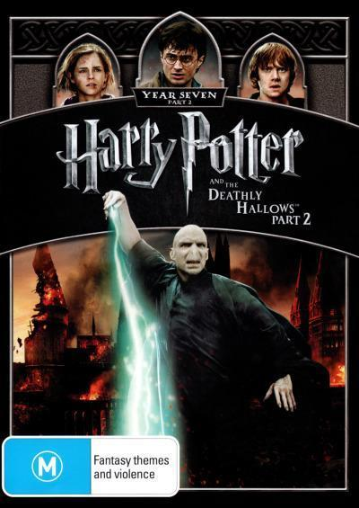 Harry Potter - And The Deathly Hallows (Part 2) on DVD image