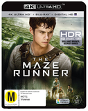 Maze Runner on Blu-ray, UHD Blu-ray, UV